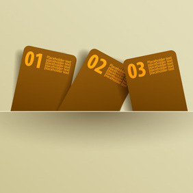 Free Vector Of The Day #75: Message Cards - Free vector #204147