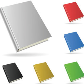 Simple Blank Book - vector gratuit #204337
