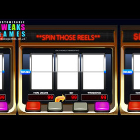 Slot Machine Vectors Pack - vector gratuit #204457
