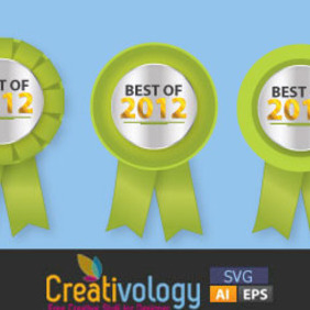 Best Of 2012 Vector - Free vector #204697