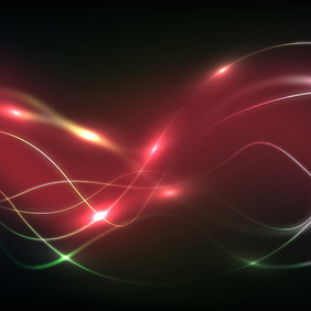Vector Wavy Background - vector gratuit #204847