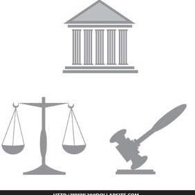 Law And Legal Illustration Free Vector - Kostenloses vector #204887