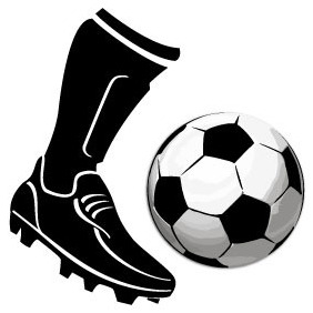 Soccer Boot Vector - Free vector #205027