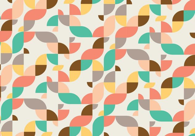 Abstract pattern background - vector gratuit #205097