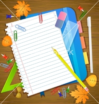 Free back to school background vector - vector gratuit #205367