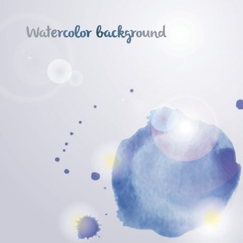 Watercolor Background - vector gratuit #205577