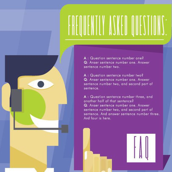 Frequently Asked Questions - Free vector #205687
