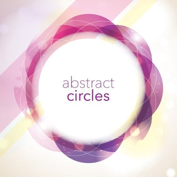 Abstract Circles - vector gratuit #205727