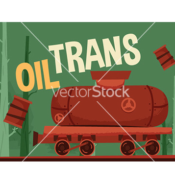 Free oil train vector - Kostenloses vector #205747