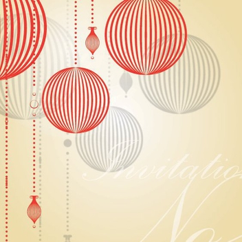 Invitation Card - Kostenloses vector #205777