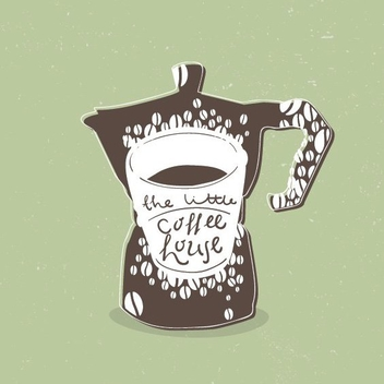 Coffee House - vector gratuit #205787