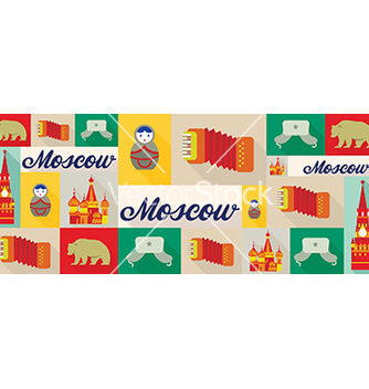 Free travel and tourism icons moscow vector - Free vector #205807