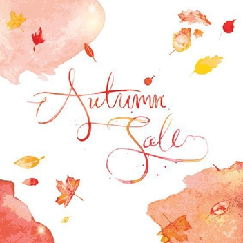 Autumn Sale - Free vector #206077