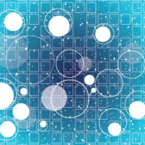 Blue Circles With Free Vector Graphic - vector #206237 gratis