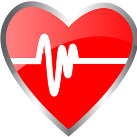 Vector Heart Beat - vector gratuit #206457