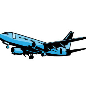 Aircraft Vector Clip Art - бесплатный vector #206617