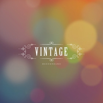 Vintage Background - vector gratuit #206647