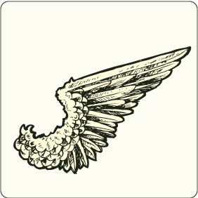 Wings 7 - vector #206677 gratis
