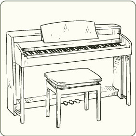 Music Instruments 3 - vector #206757 gratis