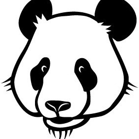 Panda Vector Graphics - Free vector #206857