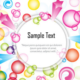 Free Colorful Text Box Graphics - vector gratuit #206927