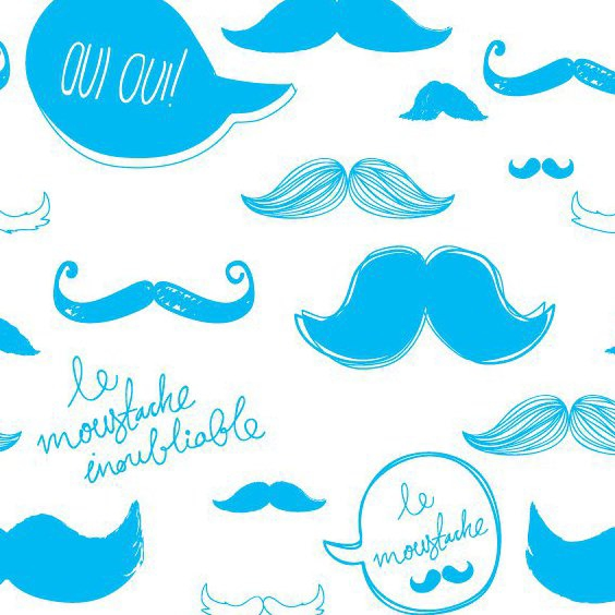 Moustache Pattern - Free vector #207147