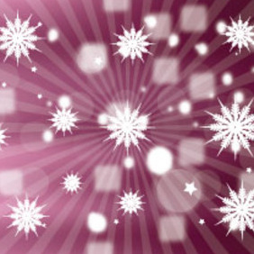 Pointed Stars In Blur Vector Background - vector #207387 gratis