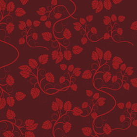 Seamless Petal Pattern - Free vector #207457