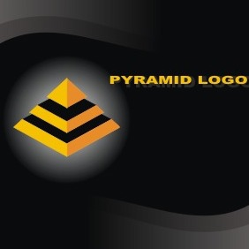 Pyramid Logo Template - Free vector #207467