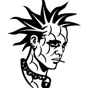 Punker Image - Free vector #207487