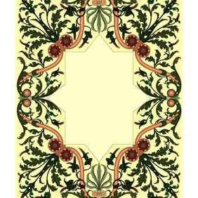 Inlay Ornamental Design 1 - vector gratuit #207617
