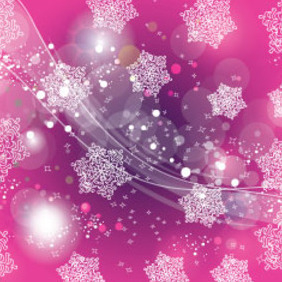 Pink Ornament Art Abstract Lines - vector #207627 gratis