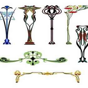 Art Ornaments - vector #208057 gratis