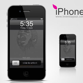 IPhone - vector #208077 gratis