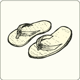 Slippers - vector gratuit #208127