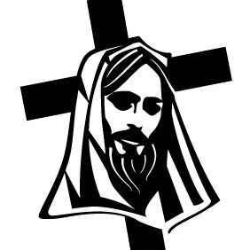 Jesus Christ Cross Vector - vector gratuit #208237