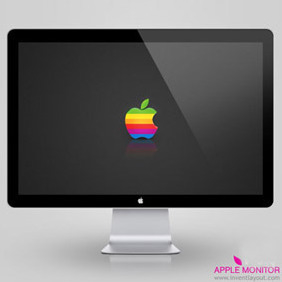 Apple Monitor - Free vector #208297