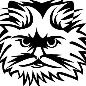 Cute Cat Vector - Free vector #208757