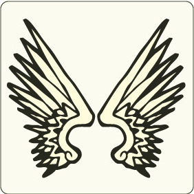 Wings 3 - vector #208827 gratis