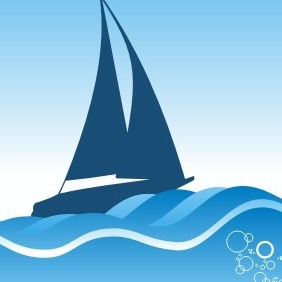 Sailing Ship - vector #208877 gratis