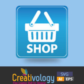 Free Vector Online Shopping Icon - бесплатный vector #208907