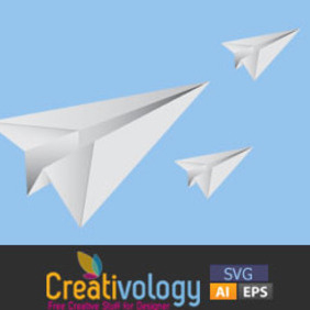 Free Vector Paper Plane - Free vector #208967