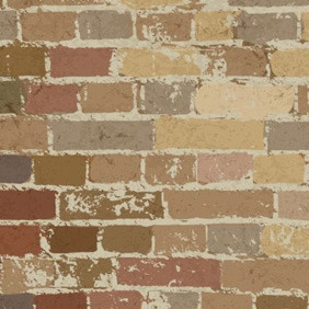 Brown Brick Wall - vector gratuit #209187