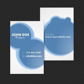 Neat Business Card Template - Free vector #209517