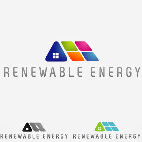 Renewable Energy Logo - vector gratuit #209567