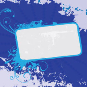 Blue Grunge Free Graphic Design - Free vector #209927