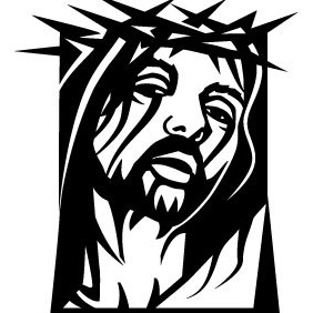 Jesus Christ Vector Art VP - Free vector #209977