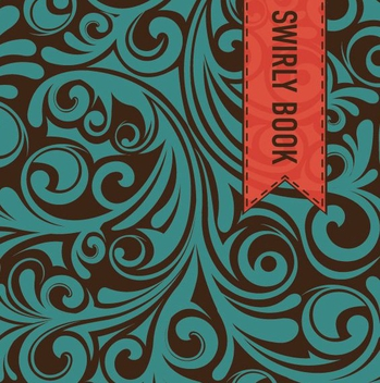Swirly Book - vector #210627 gratis
