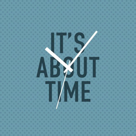 Its About Time - Free vector #210737