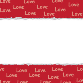 Valentines Day Card Design - vector gratuit #210907